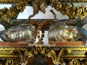 Teste dei Santi Valentino ed Ilario martiri