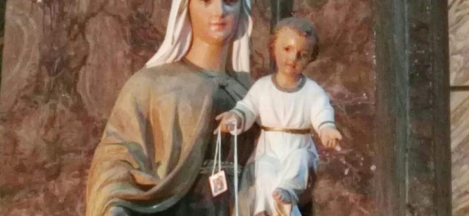 Madonna del Carmelo, Chiesa del Gonfalone, Viterbo