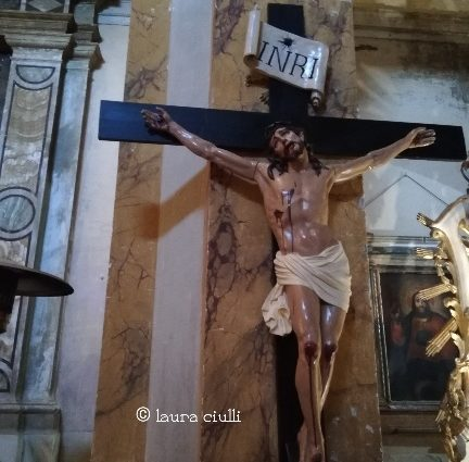 Gesù crocifisso, Ph Laura ciulli