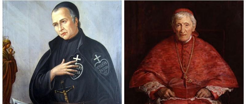 Beato Domenico Barberi, Card. Henry Newman