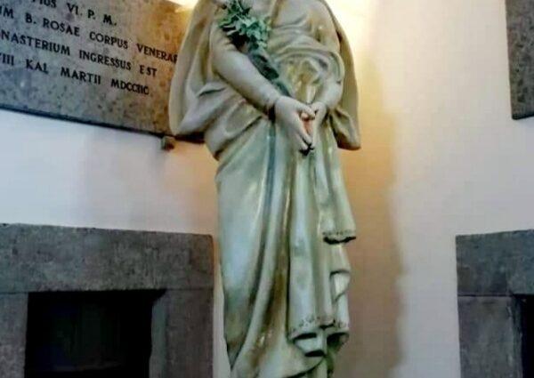 Statua di Santa Rosa