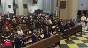 Messa in onore di Santa Rosa a Viterbo