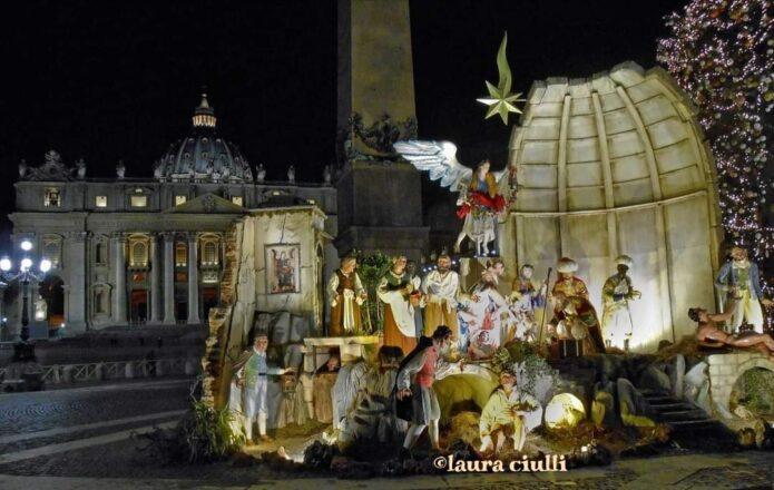 Presepe Piazza SanPietro