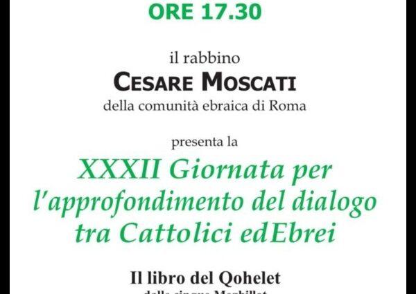 Dialogo tra cattolici e ebrei 2021